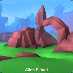 Alien Planet - Hover Patrol