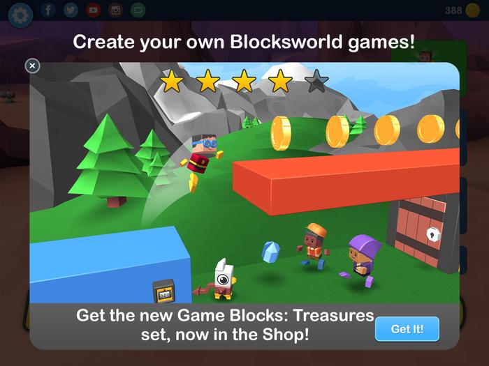 New Game Blocks packs serie!