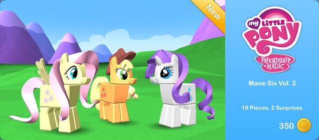 File:My Little Pony - Mane Six Vol. 2.png