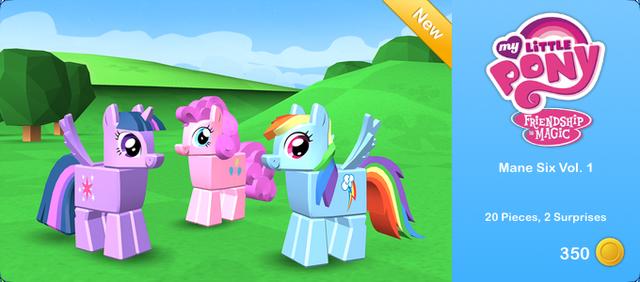 File:My Little Pony - Mane Six Vol. 1.png