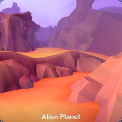 Alien Planet - Laser Blazers