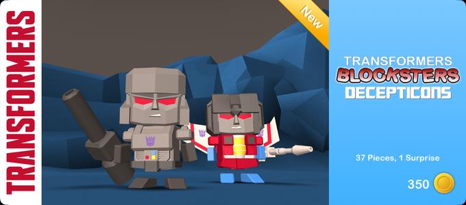 Transformers Blocksters - Decepticons