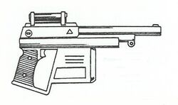 MK-60 Blaster Pistol