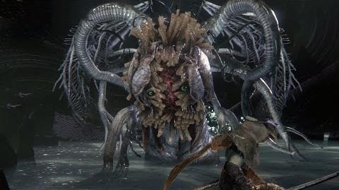 Bloodborne Ebrietas, Daughter of the Cosmos Boss Fight