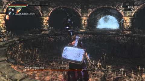 Bloodborne Beast-possessed Soul Optional Boss Fight