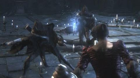 Bloodborne Forgotten Madman and Madman's Escort Optional Boss Fight