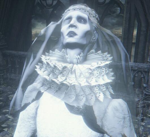 File:Yharnam, Pthumerian Queen Nightmare of Mensis 3.jpg