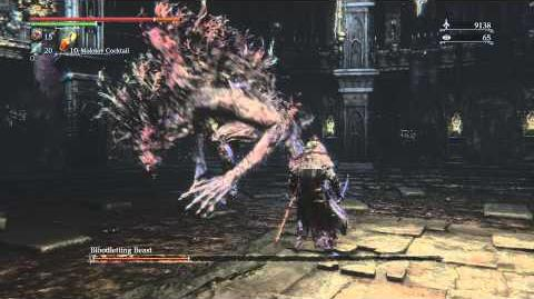 Bloodborne Bloodletting Beast Optional Boss Fight 8