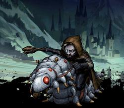 Gardin, Caterpillar Rider Image