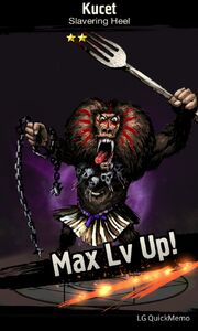 Kucet max level up