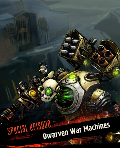 Dwarven War Machines Intro