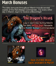 Login Bonus March News