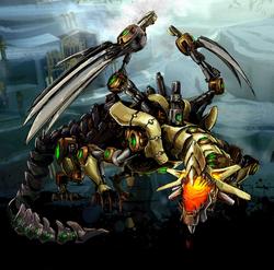 Bladewing, Steamdrake Image