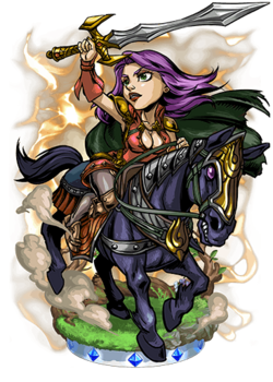 Isabella, Crimson Knight II Figure