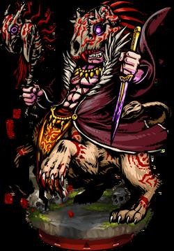 Leon, Chaos Chanter Figure