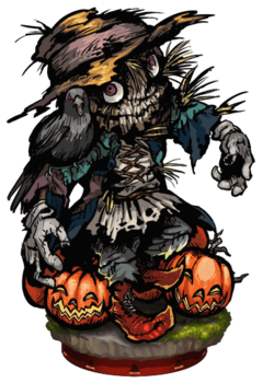Prowling Scarecrow Figure