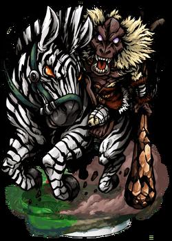 Hamad, Zebra Rider II Figure
