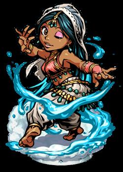 Apsara, Spirit of Water Figure