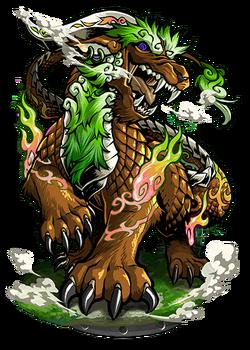 Pixiu, the Watcher Figure
