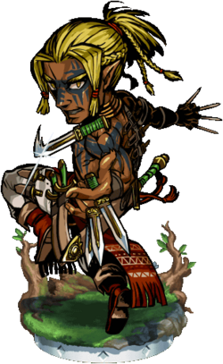 Gregoire, Weaponmaster II Figure