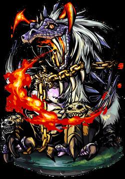 Peluda, the Poison Flame Figure