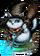 Cat Sith Snow Sorcerer Figure