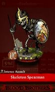 Skeleton Spearman (evolution reveal)
