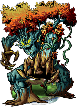 Red-Leaved Treant Figure