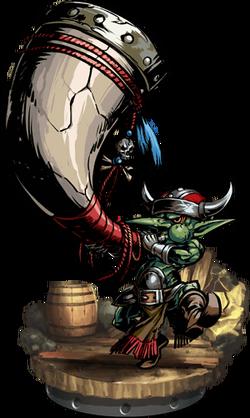Goblin Hornblower Figure