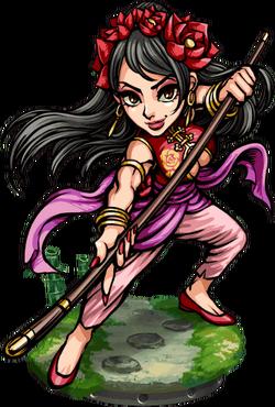 Diaochan, Staffmaster Figure