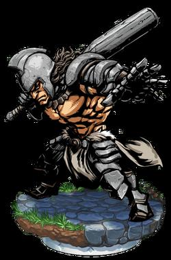 Ghislandi, The Iron Wall Figure