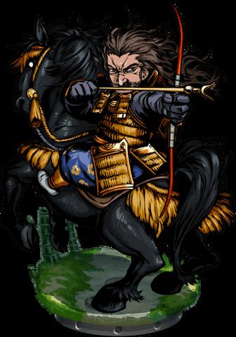 File:Tametomo, Master Archer Figure.png