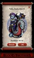 Yulia, Snakerider II pact