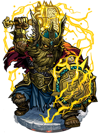 File:Thor, the Roaring Thunder Figure.png