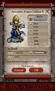 Artemisia Knight Gallant II
