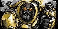 Brass Gorilla