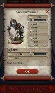 Skeleton Warrior plus (base stats)