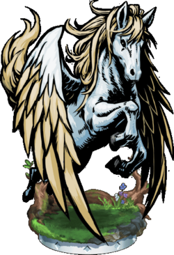 Pegasus II Figure