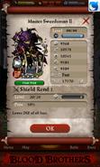 Master Swordsman - Max Stats with evolution method