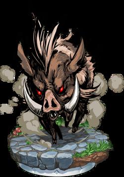 Wild Boar Figure