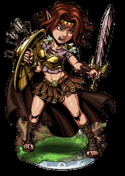 Hervor, Shieldmaiden Figure