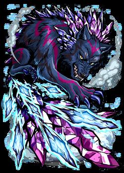 Hati, Icetail Wolf II Figure