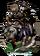 Macaca, Dog Rider Figure