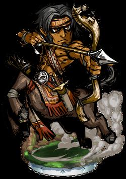 Robyn, Centaur Trapper Figure