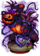 Cursed Pumpkin Golem Figure