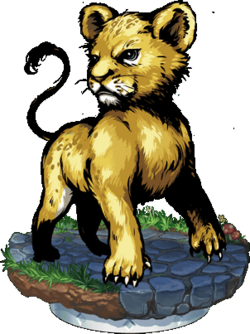 The Lion Prince Figure