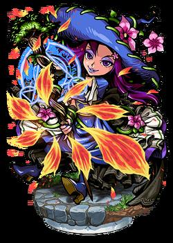 Phlox, Avern Witch II Figure