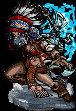 Haokah, Thunder Shaman Figure