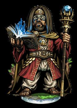 Phineus, Blind Prophet Figure