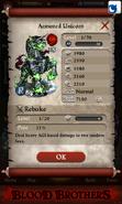 Armored Unicorn Base Stats
